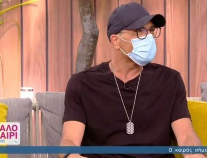 Βαλάντης: Με μάσκα στο πλατό του Καλοκαίρι#Not - Όσα είπε on air