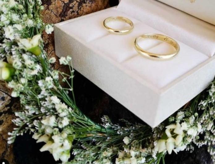 Αγαπημένη Ελληνίδα δημοσιογράφος παντρεύεται και μας δείχνει τις βέρες του γάμου της