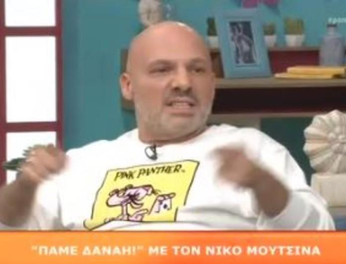 Νίκος Μουτσινάς: Πήγε στο MEGA και έδωσε τη συμβουλή του στη Δανάη Μπάρκα