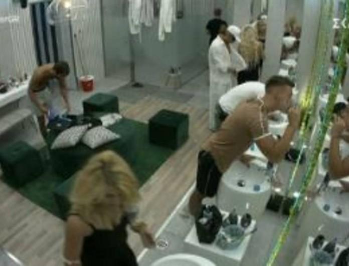 Big Brother: Απίστευτο πλάνο με Θέμη και Αφροδίτη μέσα στο μπάνιο