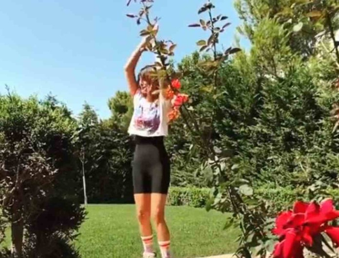 Snik: Η αποκάλυψη για την «τούμπα» της Ηλιάνας Παπαγεωργίου στον κήπο του σπιτιού τους