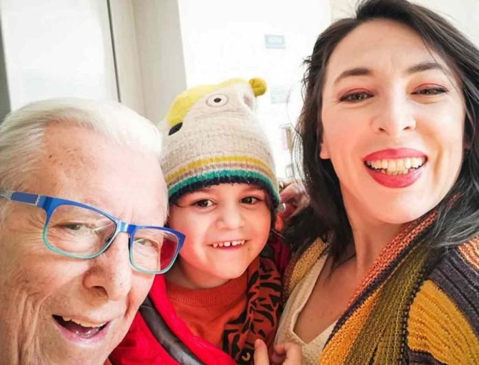 Στο Open μαζί με την Αλίκη Κατσαβού και ο Φοίβος Βουτσάς - Φωτογραφία από τα γυρίσματα