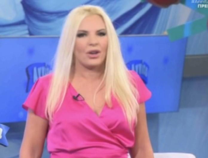 Γυναίκα - έκπληξη στο πλευρό της Αννίτας Πάνια στο Opentv
