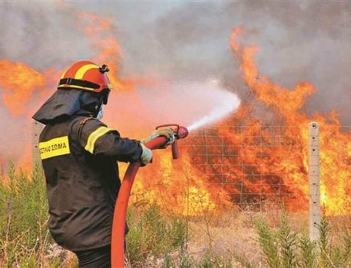Υπό μερικό έλεγχο η φωτιά στον Βύρωνα - Δυσκολεύουν οι άνεμοι
