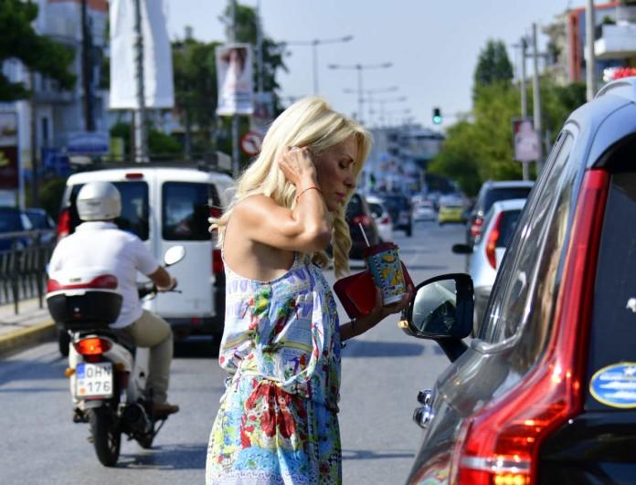 Οι μυστικές συναντήσεις της Ελένης Μενεγάκη στην Αθήνα χωρίς τον Ματέο Παντζόπουλο