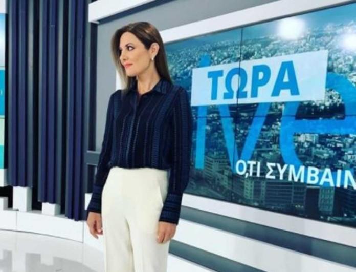 Φαίη Μαυραγάνη: Με μίντι Massimo Dutti φόρεμα η παρουσιάστρια του OPEN