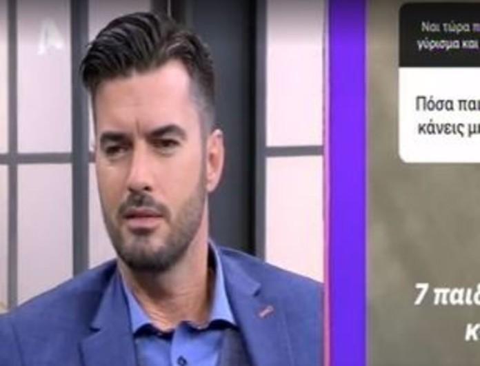 Γιάννης Τσιμιτσέλης: Η απάντηση για το ενδεχόμενο απόκτησης παιδιού με την Γερονικολού - «Έκανα ένα...»