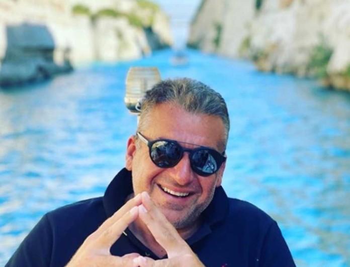 Η φωτογραφία του Γιώργου Λιάγκα με πρώην πρόσωπο του Opentv