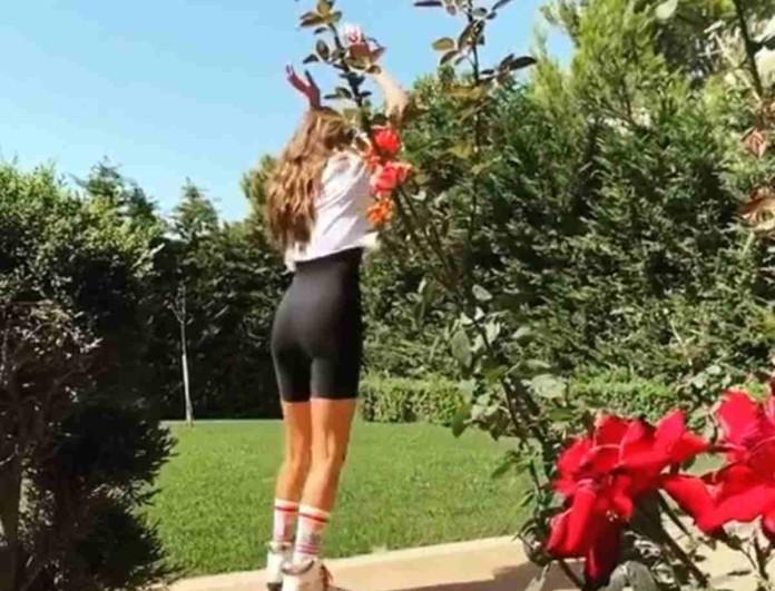 Ηλιάνα Παπαγεωργίου: Το βίντεο έπος από το σπίτι της με τον Snik που «τρέλανε» το διαδίκτυο