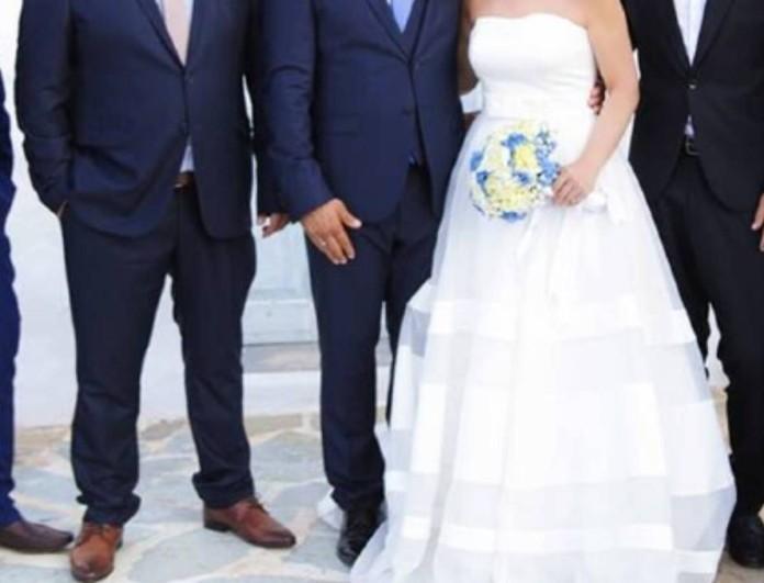 Λαμπερός γάμος στη Βάρκιζα με κουμπάρο τον Κώστα Κατσουράνη