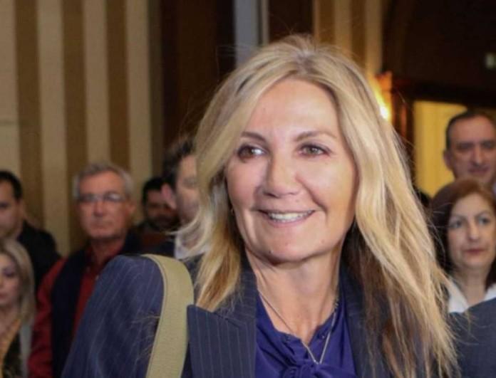 Μαρέβα Μητσοτάκη: Η συνάντηση με ξανθιά παρουσιάστρια και η κοινή φωτογραφία