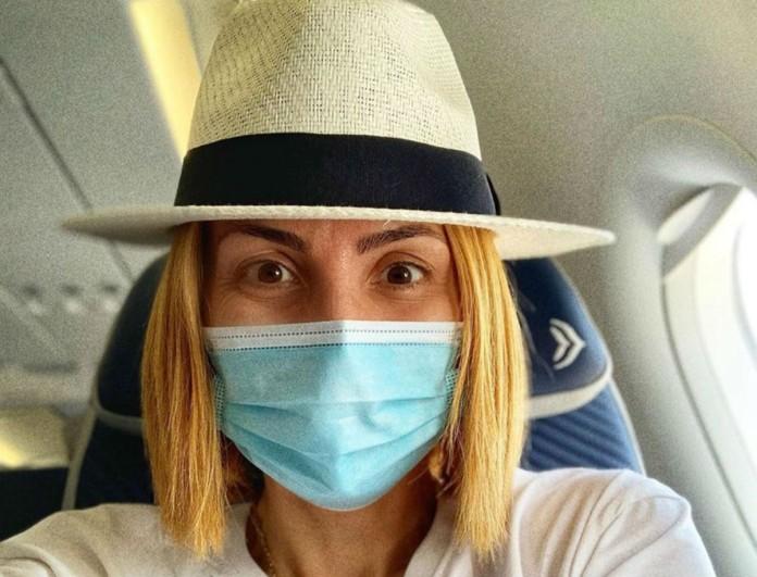 Μαρία Ηλιάκη: Βγήκε το αποτέλεσμα του  τεστ κορωνοϊού