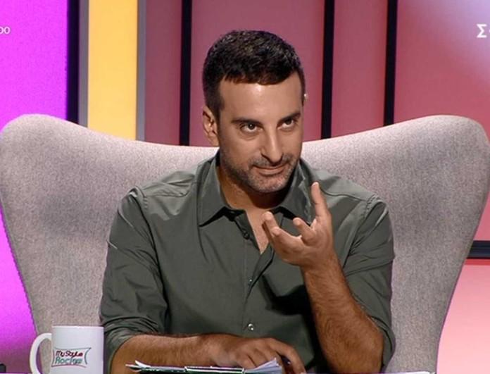 My Style Rocks: Απασφάλισε ο Στέλιος Κουδουνάρης -  «Αν έχεις στιλίστα...»