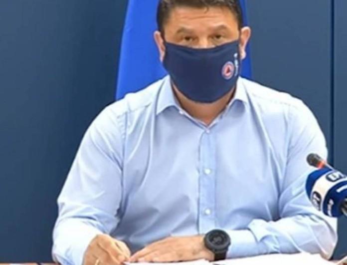 Κορωνοϊός: Η ανακοίνωση του Χαρδαλιά για τις μάσκες στα σχολεία
