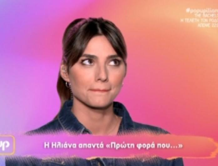 Το δώρο που έκανε ο Snik στην Ηλιάνα Παπαγεωργίου για την πρεμιέρα της στο Pop Up