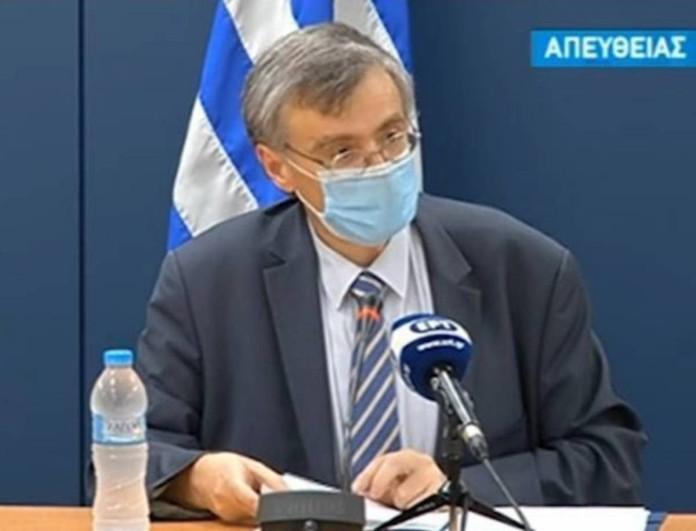 Εκτός ενημέρωσης σήμερα ο Σωτήρης Τσιόδρας - Τι συνέβη;