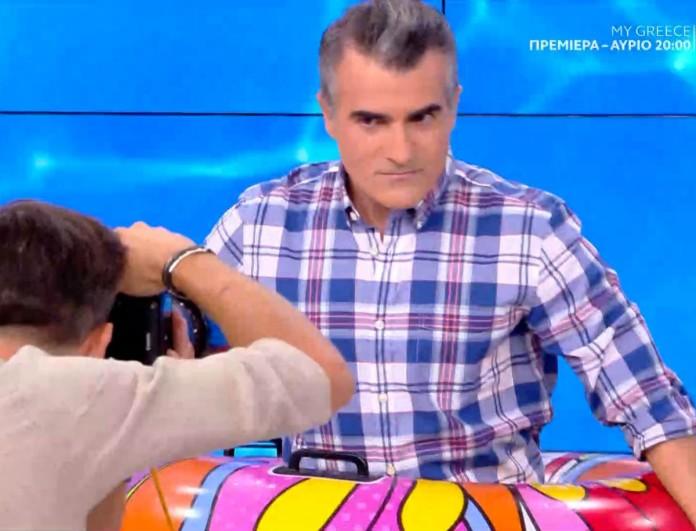 Παύλος Σταματόπουλος: Απίστευτο σκηνικό - Κατέβασε το παντελόνι του στον αέρα της εκπομπής!