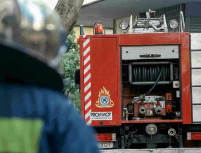 Έκρηξη στο Κολωνάκι - Διακοπή κυκλοφορίας