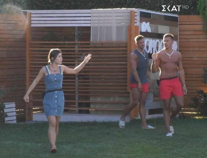 Big Brother: Έξαλλη η Ραϊσα - Ούρλιαζε στους δίδυμους