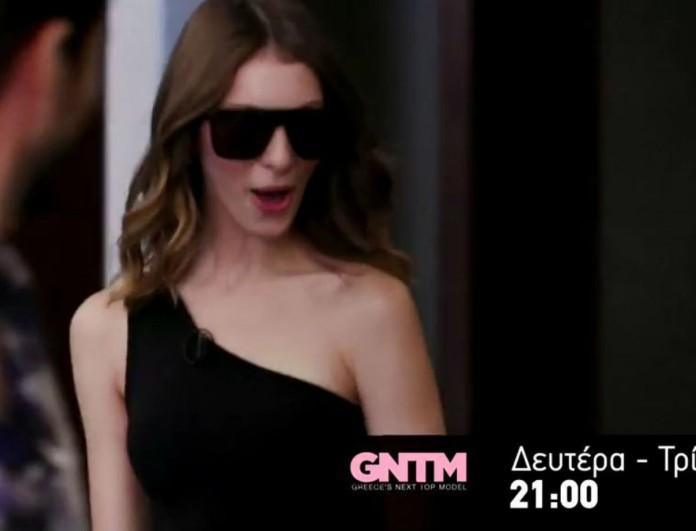GNTM 3: Η Άννα Μαρία Ηλιάδου εισβάλλει στο σπίτι και φέρνει τα πάνω κάτω!
