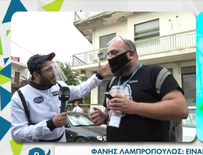 Φάνης Λαμπρόπουλος: Η σύγκριση με τις Σφήκες -