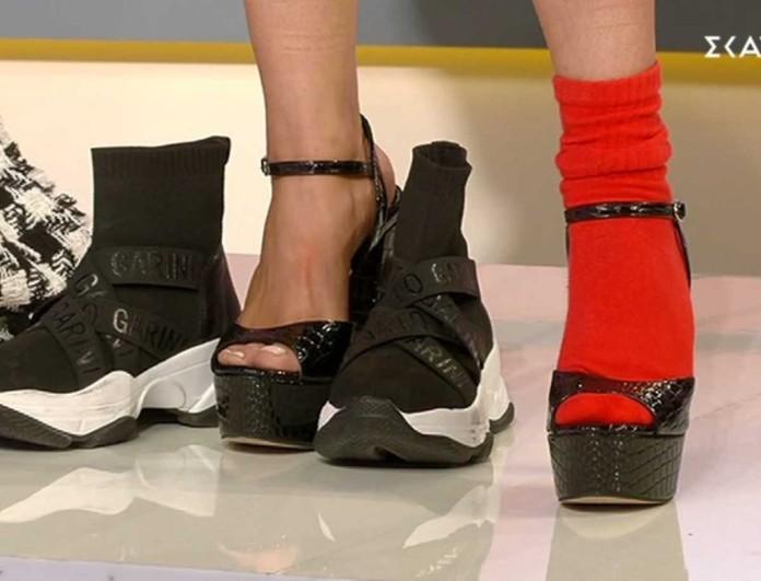 My Style Rocks: Ο Κουδουνάρης πήρε τα παπούτσια της Χριστοπούλου και τα φόρεσε σε παίκτρια