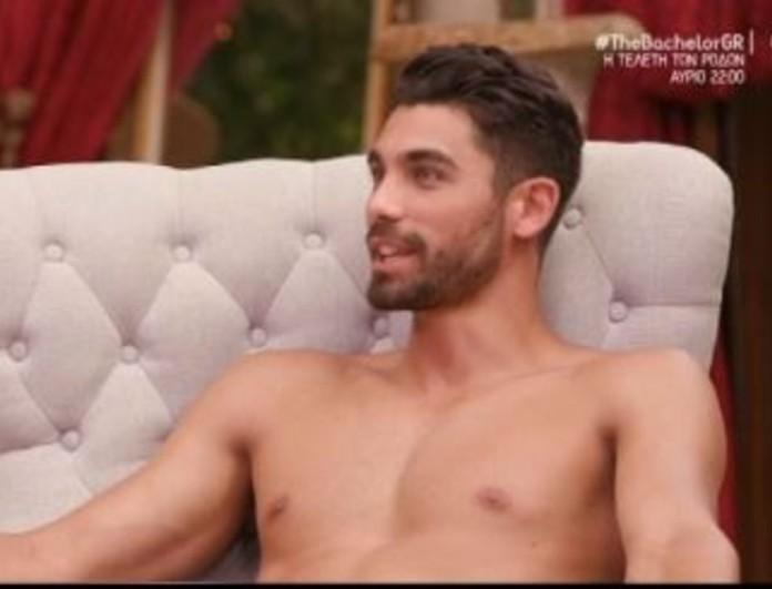 The Bachelor: Γυμνός μπροστά στις παίκτριες ο Βασιλάκος - Έκατσε να τον  ζωγραφίσουν - News - Youweekly