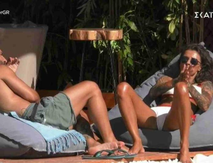 Big Brother: Η Ραμόνα έριξε... χυλόπιτα στον Γρηγόρη - «Σε βλέπω φιλικά»