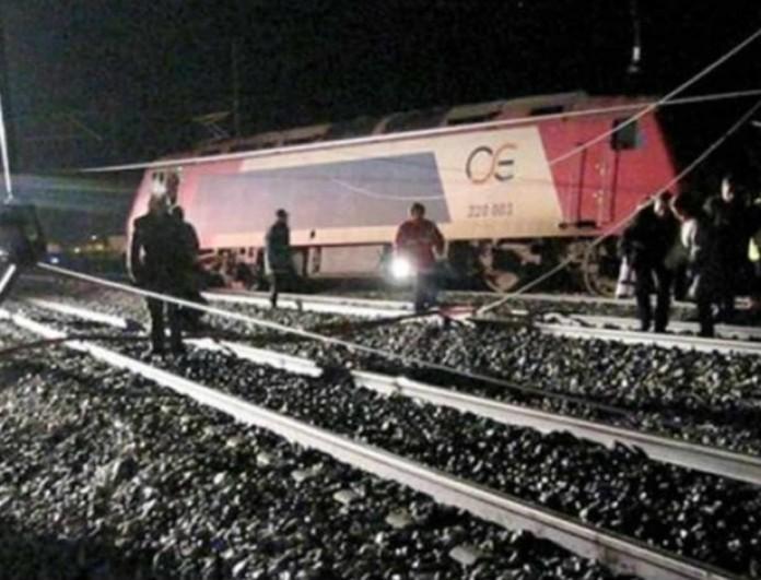 Χαλκίδα: Εκτροχιάστηκε βαγόνι τρένου