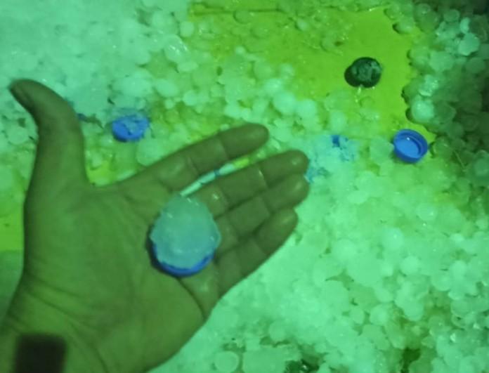 Χαλασμός στην Κρήτη: Χείμαρροι οι δρόμοι από βροχή και χαλάζι
