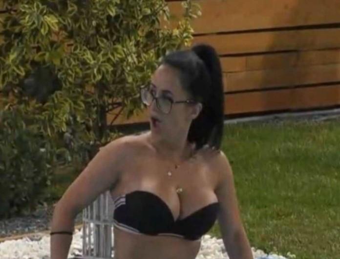 Big Brother: Η αντίδραση της Χριστίνας όταν της έστειλαν ακατάλληλη φωτογραφία σε live