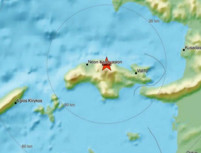 Σεισμός πανικόβαλλε ξανά τους κατοίκους της Σάμου