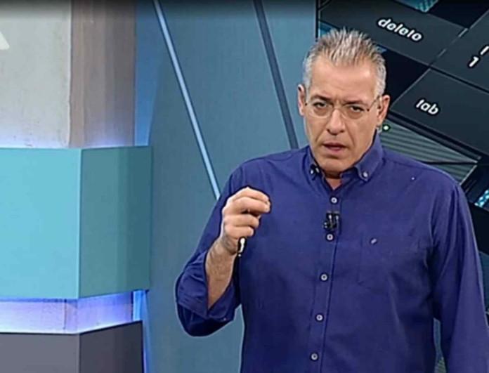 Χαμός με τον Νίκο Μάνεση στον ALPHA - Σούσουρο στους διαδρόμους του σταθμού