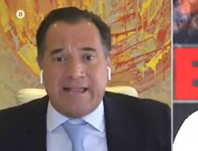 Ωρυόταν στον αέρα του ΣΚΑΪ ο Άδωνις Γεωργιάδης - Εκτός εαυτού ο Υπουργός
