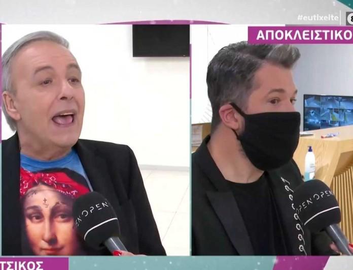 Ξέσπασε on air ο Ανδρέας Μικρούτσικος για τον Χάρη Βαρθακούρη - «Λέει ψέματα»