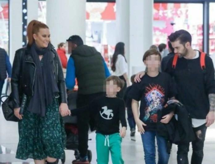 Σίσσυ Χρηστίδου - Θοδωρής Μαραντίνης: Θύελλα αντιδράσεων έφερε η φωτογραφία των παιδιών τους