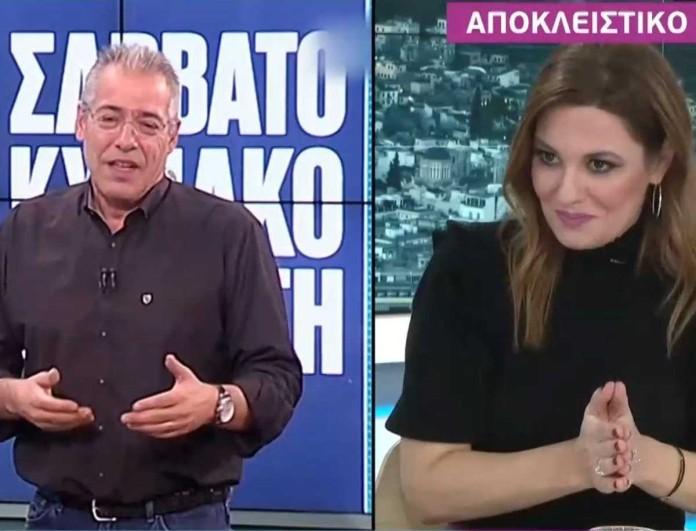 Φαίη Μαυραγάνη: Αποκάλυψη για τον γάμο της με τον Νίκο Μάνεση - «Έχει έναν χαρακτήρα...»