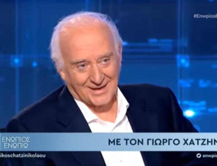 Συγκλόνισε ο Γιώργος Χατζηνάσιος στο Ενώπιος Ενωπίω - «Δεν ήμουν καλός μπαμπάς»
