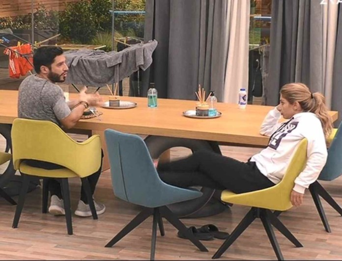Big Brother: Στα μαχαίρια Γρηγόρης και Σοφία - «Ψήφισέ με να φύγω»