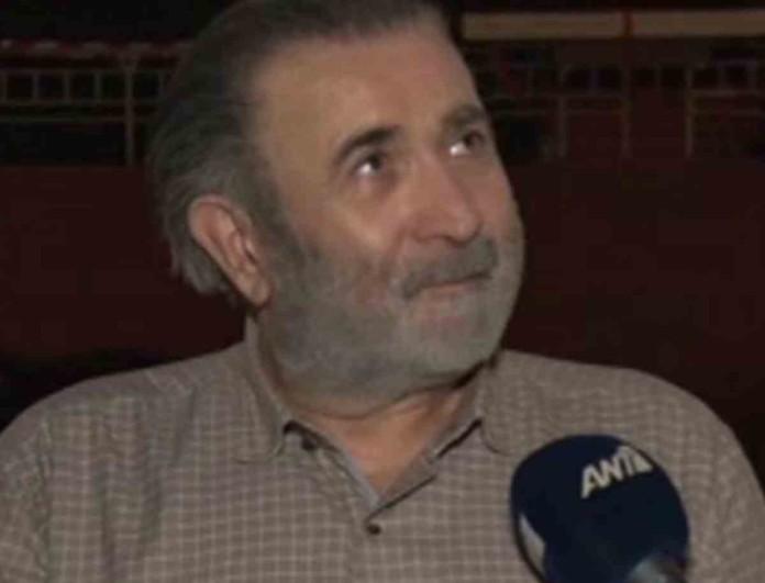 «Λύγισε» ο Λάκης Λαζόπουλος για το θάνατο της συζύγου του - Δάκρυσε μπροστά στην κάμερα