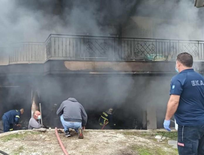 Θρίλερ στην Ελασσόνα: 35χρονη έχασε την ζωή της μετά από φωτιά που ξέσπασε στο σπίτι της