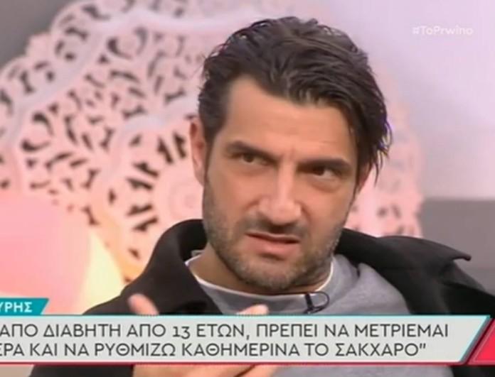 Σοκάρει ο Νίκος Κουρής με το πρόβλημα υγείας του:
