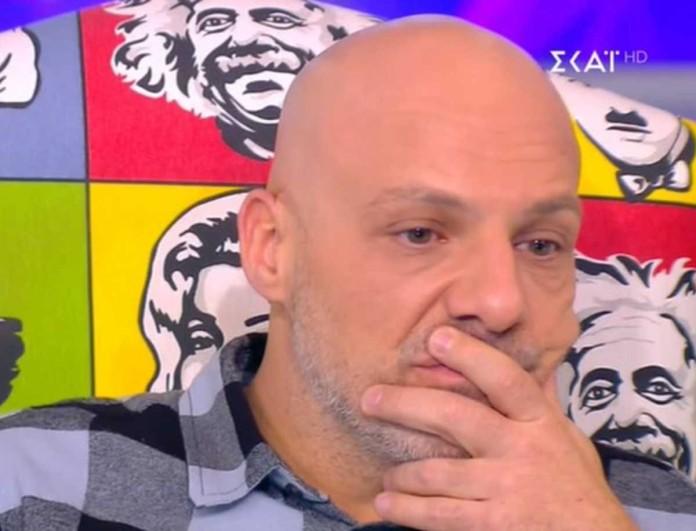 Δάκρυσε στον αέρα του ΣΚΑΪ ο Νίκος Μουτσινάς - Τι συνέβη;