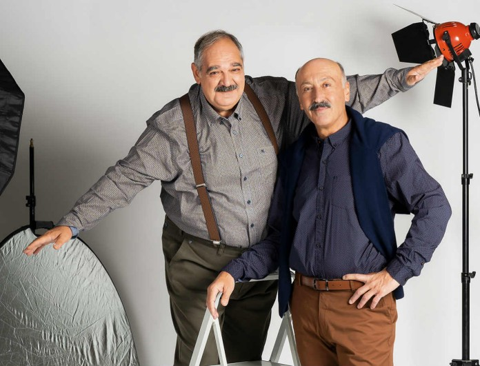Παύλος Ορκόπουλος και Γιώργος Σουξές στο νέο τεύχος YOU!