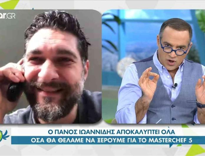 Εξελίξεις στο Star με το MasterChef 5 - Η ανακοίνωση του Πάνου Ιωαννίδη
