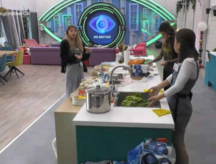 Big Brother: Στα μαχαίρια ξανά Ραϊσα - Σοφία -