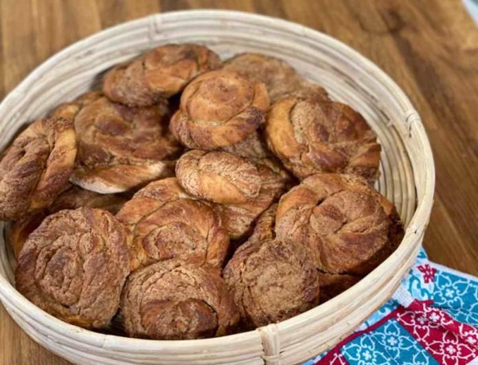 «Λουκούμι» οι κυπριακές ταχινόπιτες της Αργυρώς Μπαρμπαρίγου - Το μυστικό είναι στην κανέλα