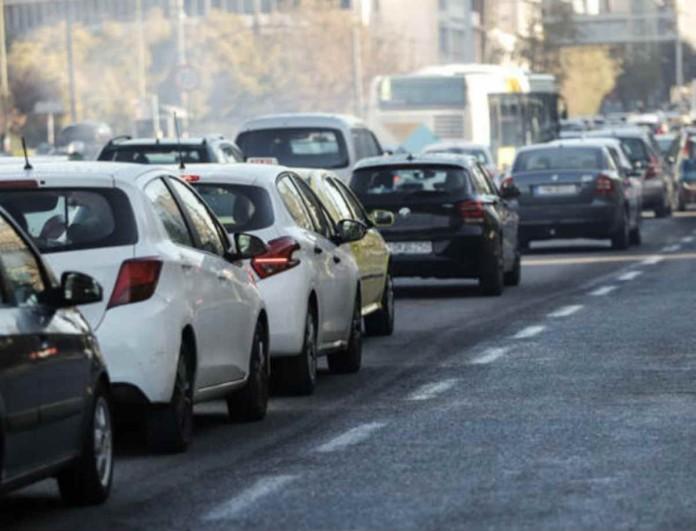 Τροχαίο ατύχημα στη Βασιλίσσης Σοφίας προκάλεσε κυκλοφοριακό κομφούζιο