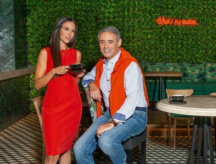 Ο Ιορδάνης Χασαπόπουλος και η Ανθή Βούλγαρη δίνουν μια αποκαλυπτική συνέντευξη στο YOU!