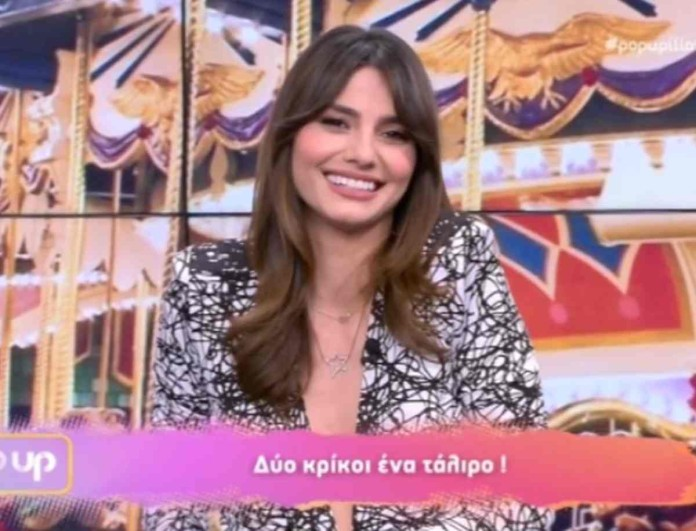 Pop Up: Η απίστευτη ατάκα της Ηλιάνας Παπαγεωργίου στον αέρα της εκπομπής για την τηλεθέαση